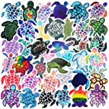 Minoly Trendy VSCO Kids Friendly Stickers, 41 Pcs Cute Sea Turtles Stickers Waterproof Decals for Water Bottle Hydro Flask Sk