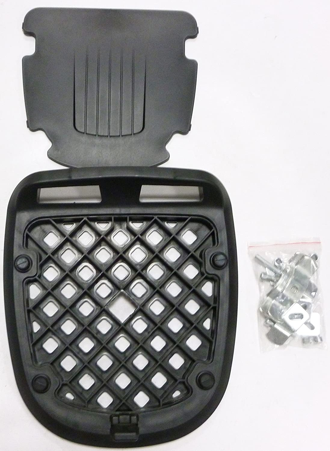 MOTORBIKE LUGGAGE TOP BOX 32 LITRE Motorcycle Scooter Travel Touring Sport Universal Fit TopBox Back Rear Case