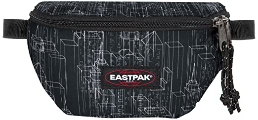 144 opinioni per Eastpak Springer Marsupio Sportivo, 2 Litri, Nero (Black Blocks)