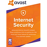 Avast Internet Security 2018 for 1 PC 2 Year (Download)