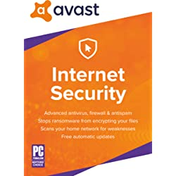 Avast Internet Security 2018 (1 PC, 2 Years) [Download]