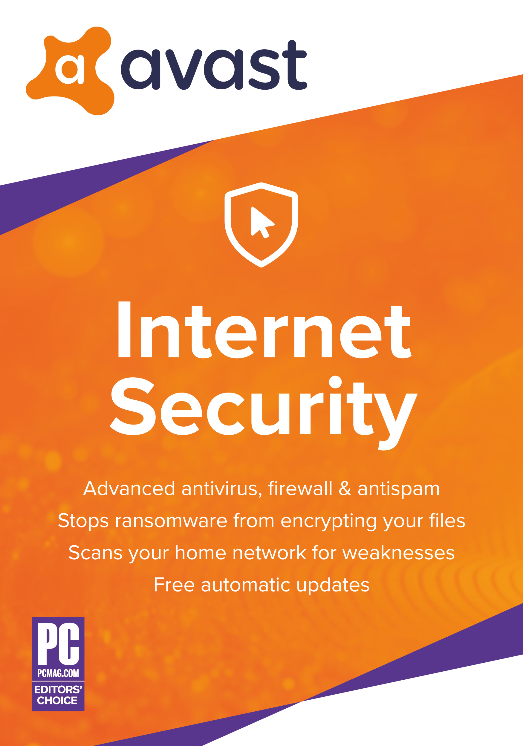 Avast Internet Security 2019 | Antivirus protection software | 2 Years, 1 PC [Download]
