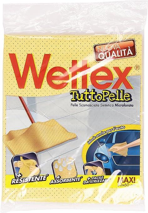 Wettex TuttoPelle Panno Multiuso, in Pelle Scamosciata, per