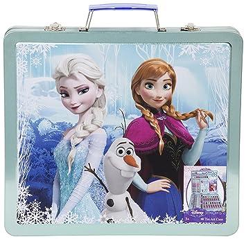 Frozen Caso Para Colorear Metálico Diseño Elsa Anna Y Olaf Dfr 4158