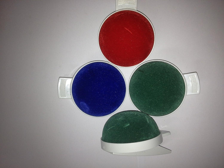 FIM Puntaspilli clip, diversi colori, Top Qualità verde