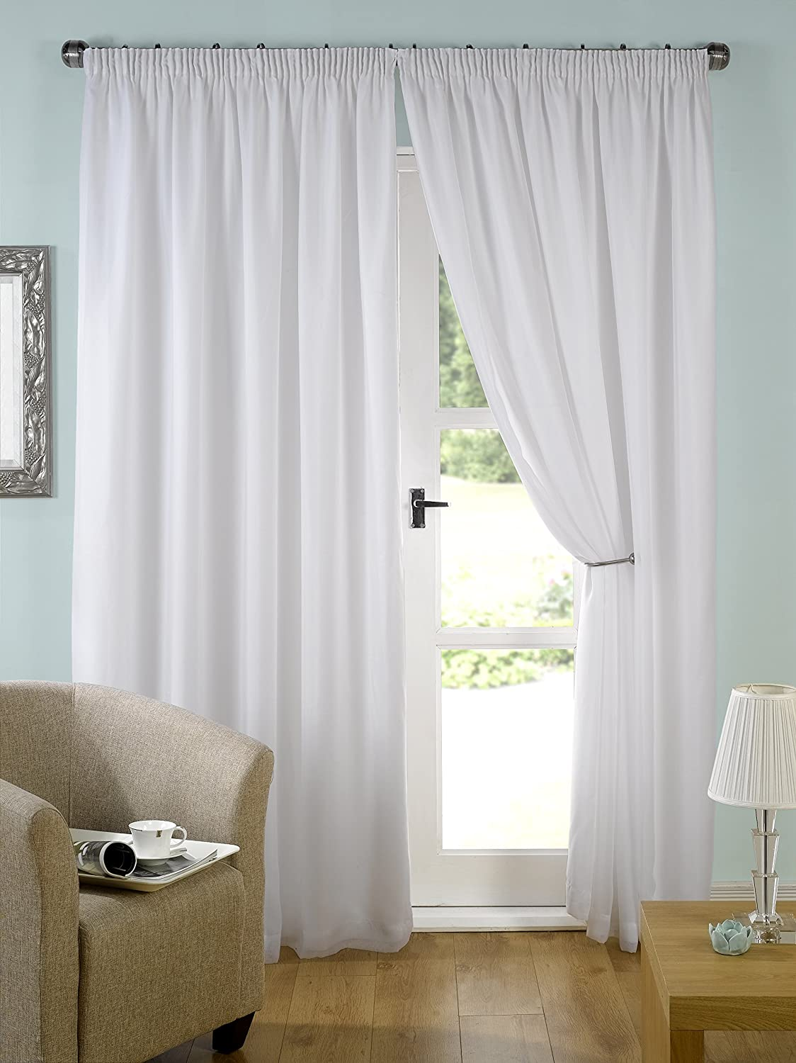 and silver curtains fashions home cagliari drapery rpp softline white panel