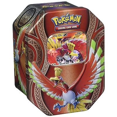 Pokémon TCG: Ho-Oh Gx Mysterious Powers Tin (New October 2020): Toys & Games