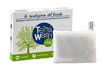Terra Wash + MG Eco lavandería bolsa - reutilizable para 365 lavados.: Amazon.es: Hogar