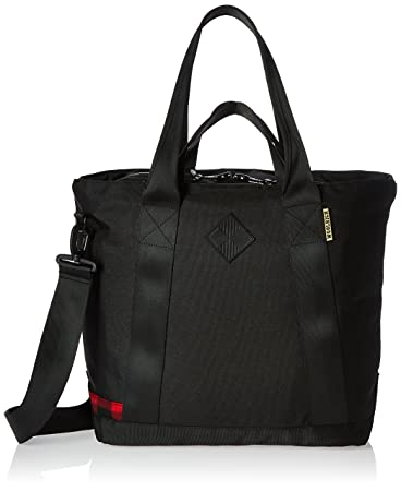 384055e8bff Amazon.com | Woolrich X The Hill-Side Tote Bag Laptop, Black One ...