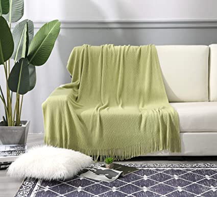 Amazon Com Alpha Home Throw Blanket 50 X 60 For Couch Sofa