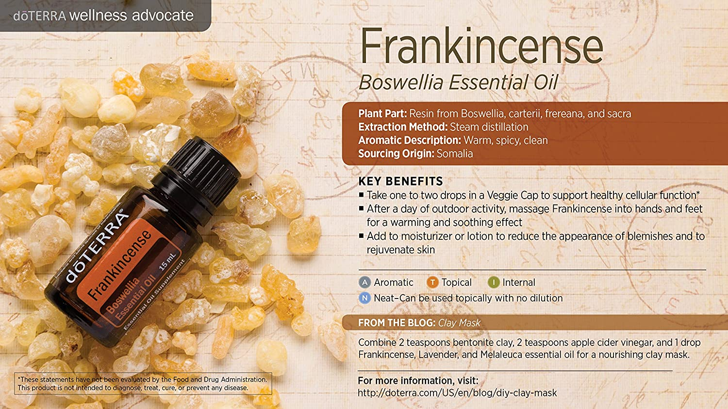 Image result for doterra frankincense