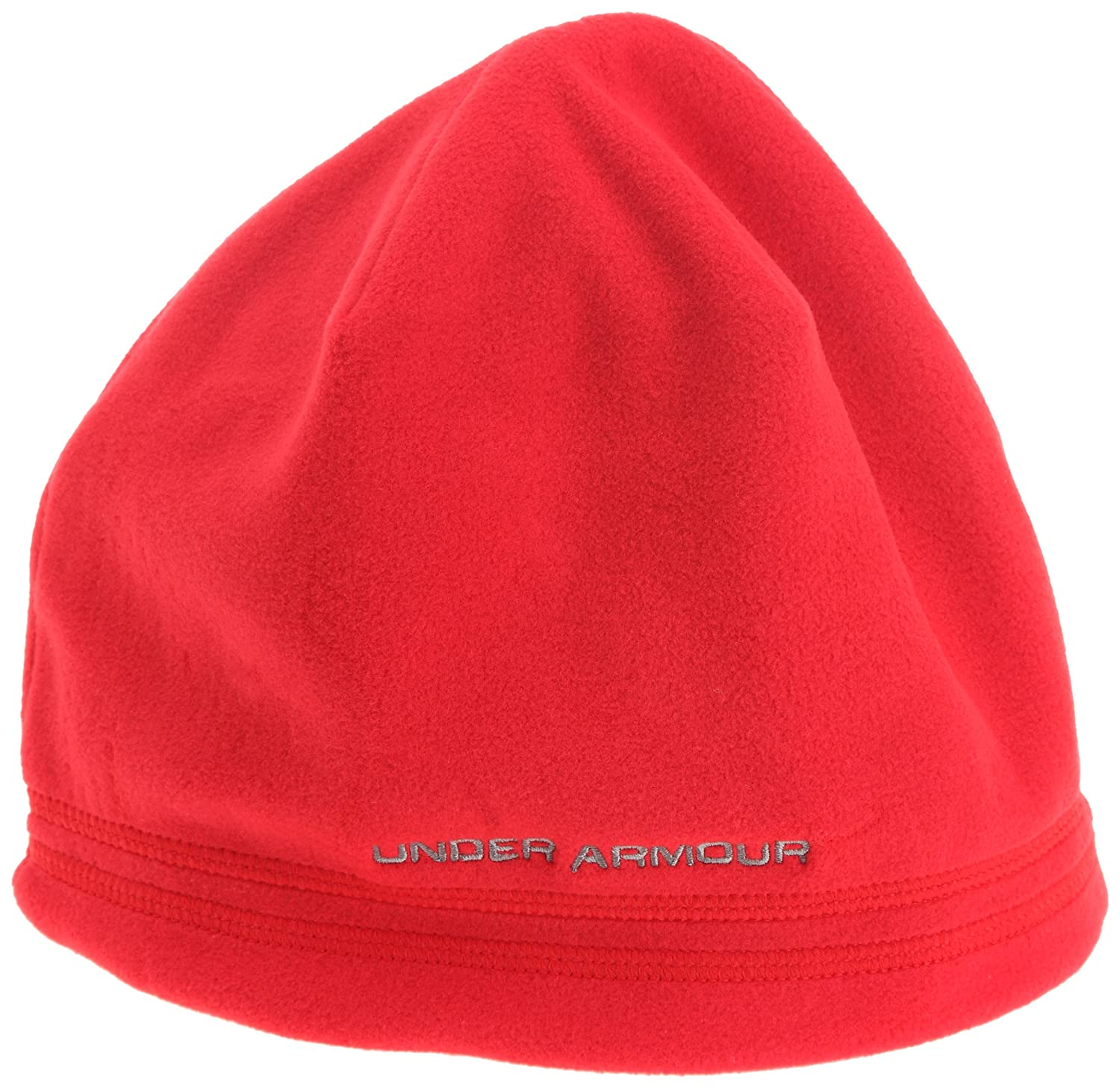 964cbe41136 Under Armour Blustery Beanie Men s Hat red Size One size  Amazon.co.uk   Sports   Outdoors