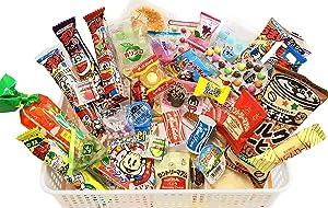 Samurai Dagashi Set, Japanese Snack Assortment 36pcs