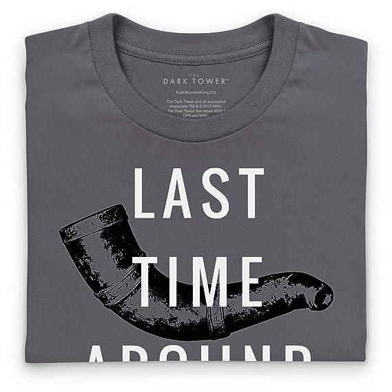 Official The Dark Tower Horn of Eld T-Shirt, Herren: Amazon.de: Bekleidung