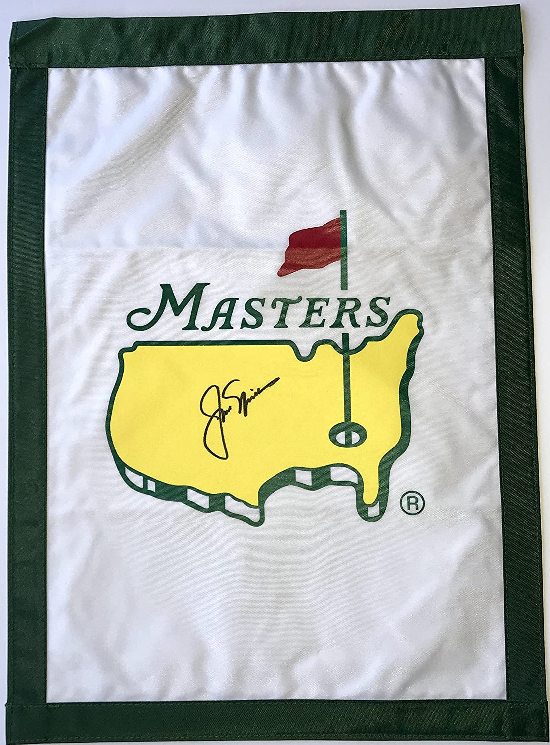 3f9ca56597a Jack Nicklaus signed Masters golf flag with psa dna loa augusta national at  Amazon s Sports Collectibles Store