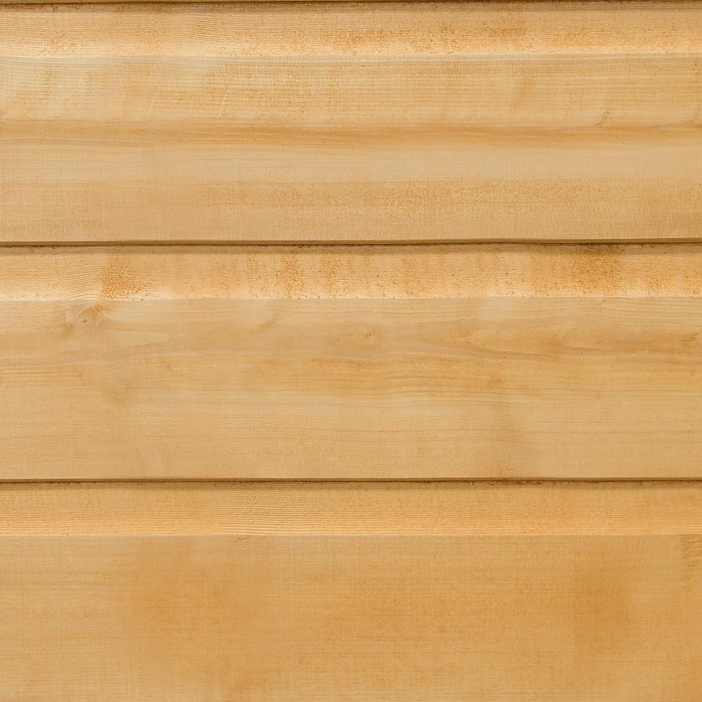 /überf/älzt /tauchlackiert 1,83 x 1,22 m Forest Gartenschuppen Pultdach