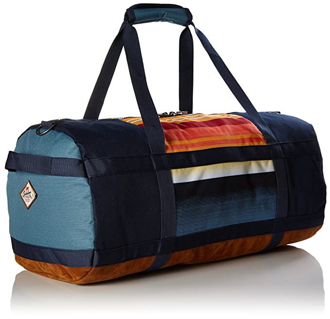 Quiksilver New moyennes Duffle Sac de poche, nasturticm Everyday Stripes, 44 x 8,8 x 26 cm