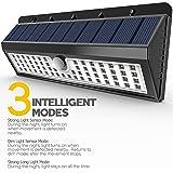 Lemontec Solar Lights, 62 LED Wall Solar Light