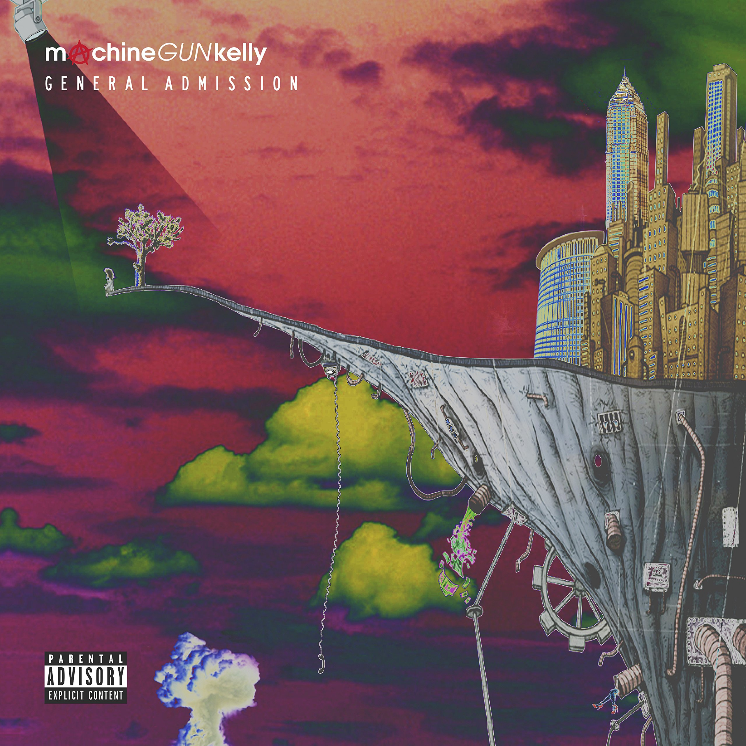 CD : Machine Gun Kelly - General Admission [Explicit Content] (Deluxe Edition)