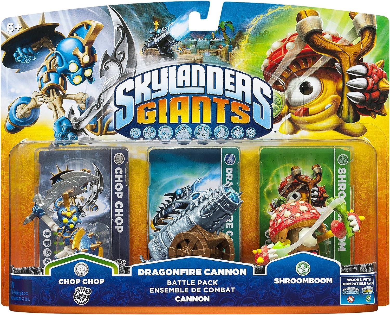 Amazon.com: Skylanders Giants Battlepack #1 - Chop Chop - Dragonfire ...