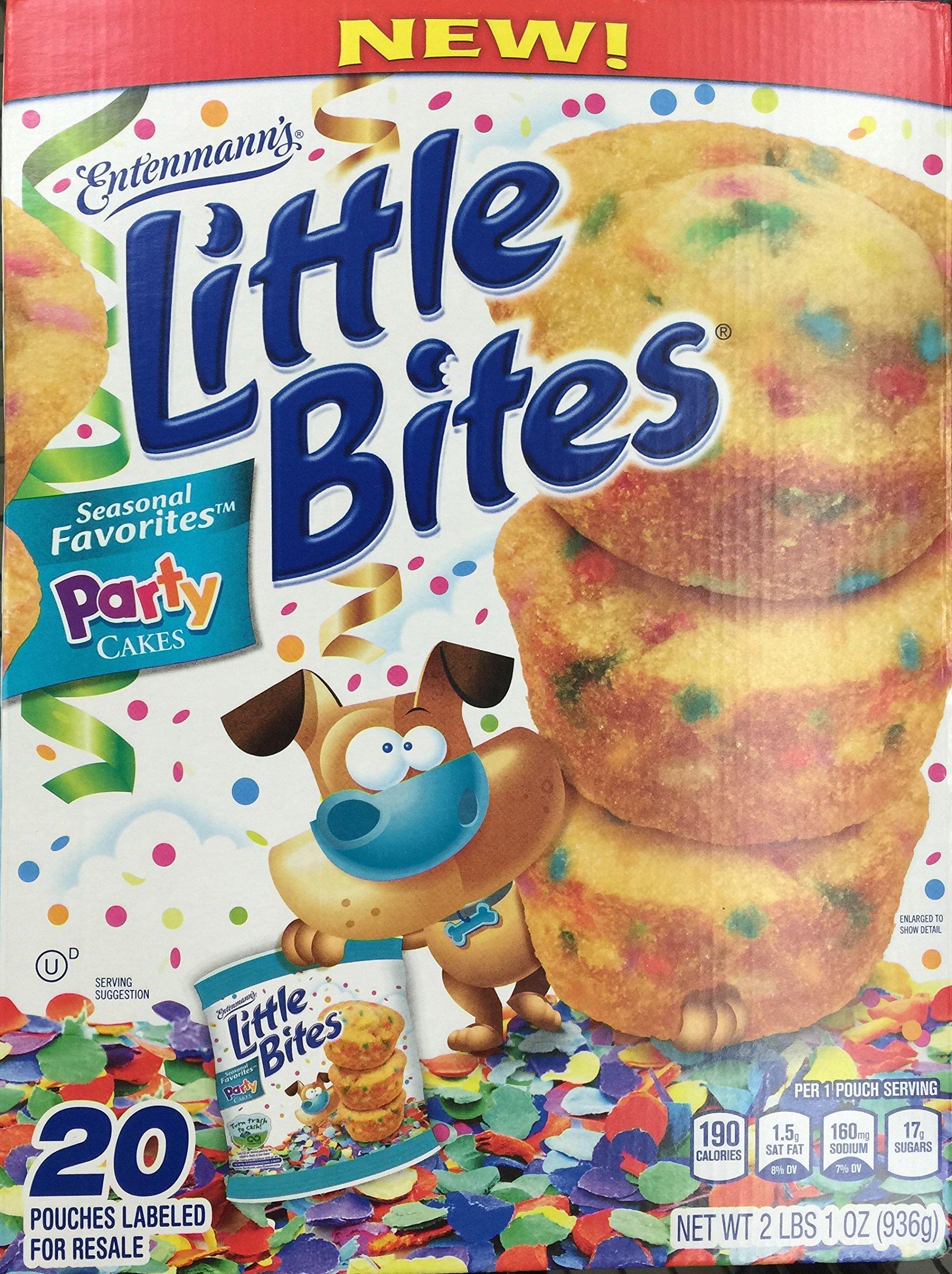 Entenmann's Little Bites Seasonal Favorites Party Cakes 20 Pouches - 2 lbs. 1 oz. by Entenmann's Little Bites (Image #1)
