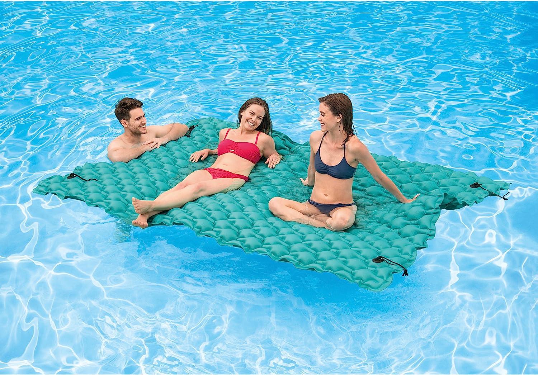 Amazon.com: Intex - Alfombrilla flotante hinchable gigante ...