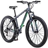 "Mongoose Rader 27.5+ Men's 2.8"" Tire Fat Tire Bike Medium Frame Size Grey"