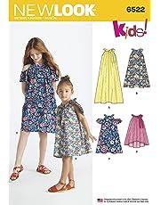 ddd8bc72466 Simplicité New Look Enfant et Filles Robes et Top Patron de Couture