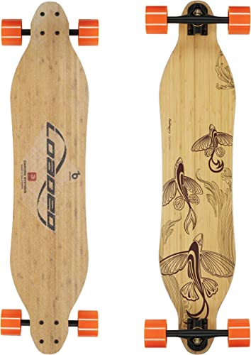 Loaded Boards Vanguard Bamboo Longboard Skateboard Complete