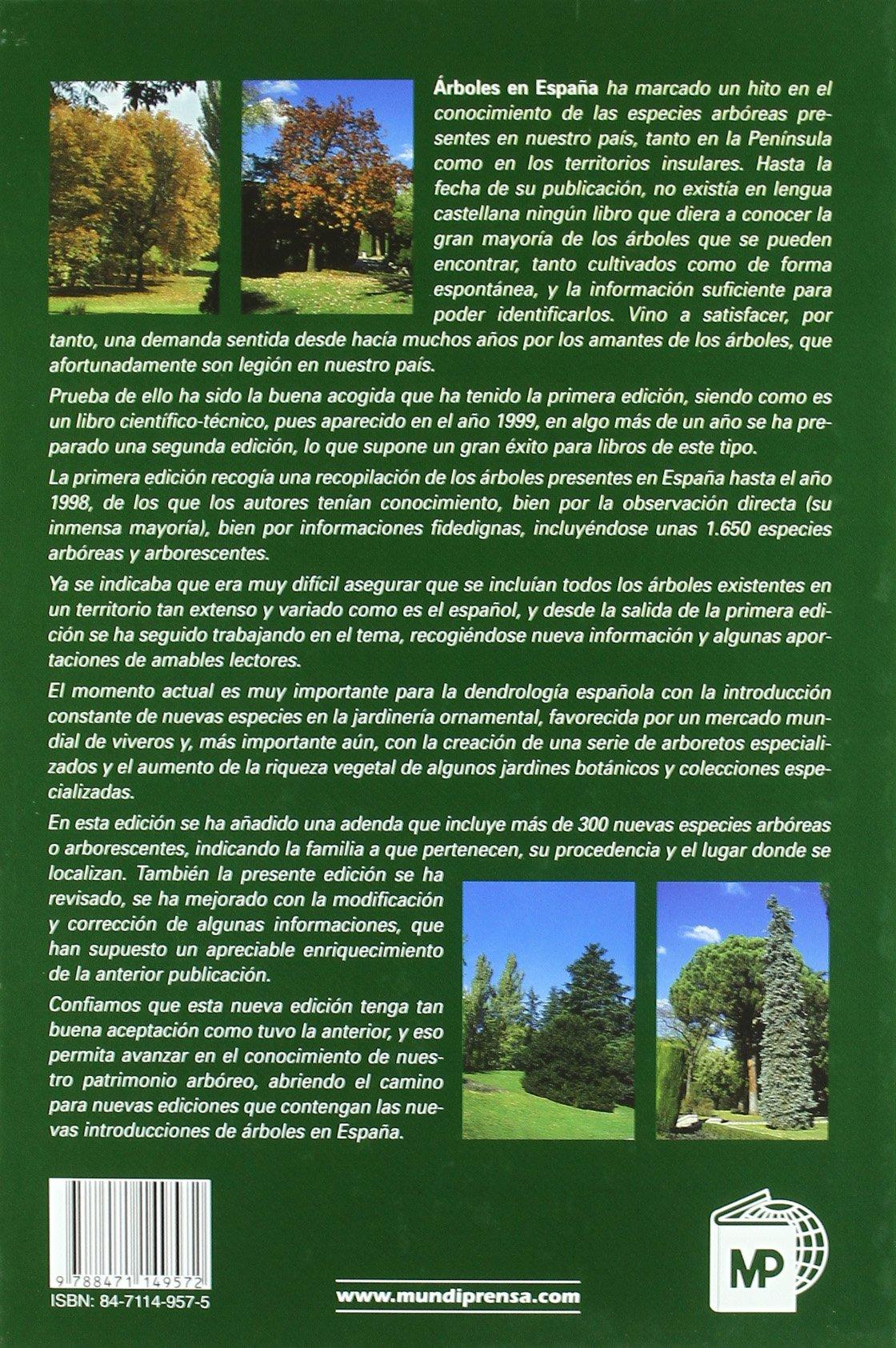 Árboles en España. Manual de identificación.: Amazon.es: López ...