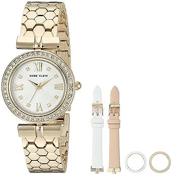 3732fdc6031 Amazon.com  Anne Klein Women s AK 3140INST Swarovski Crystal ...