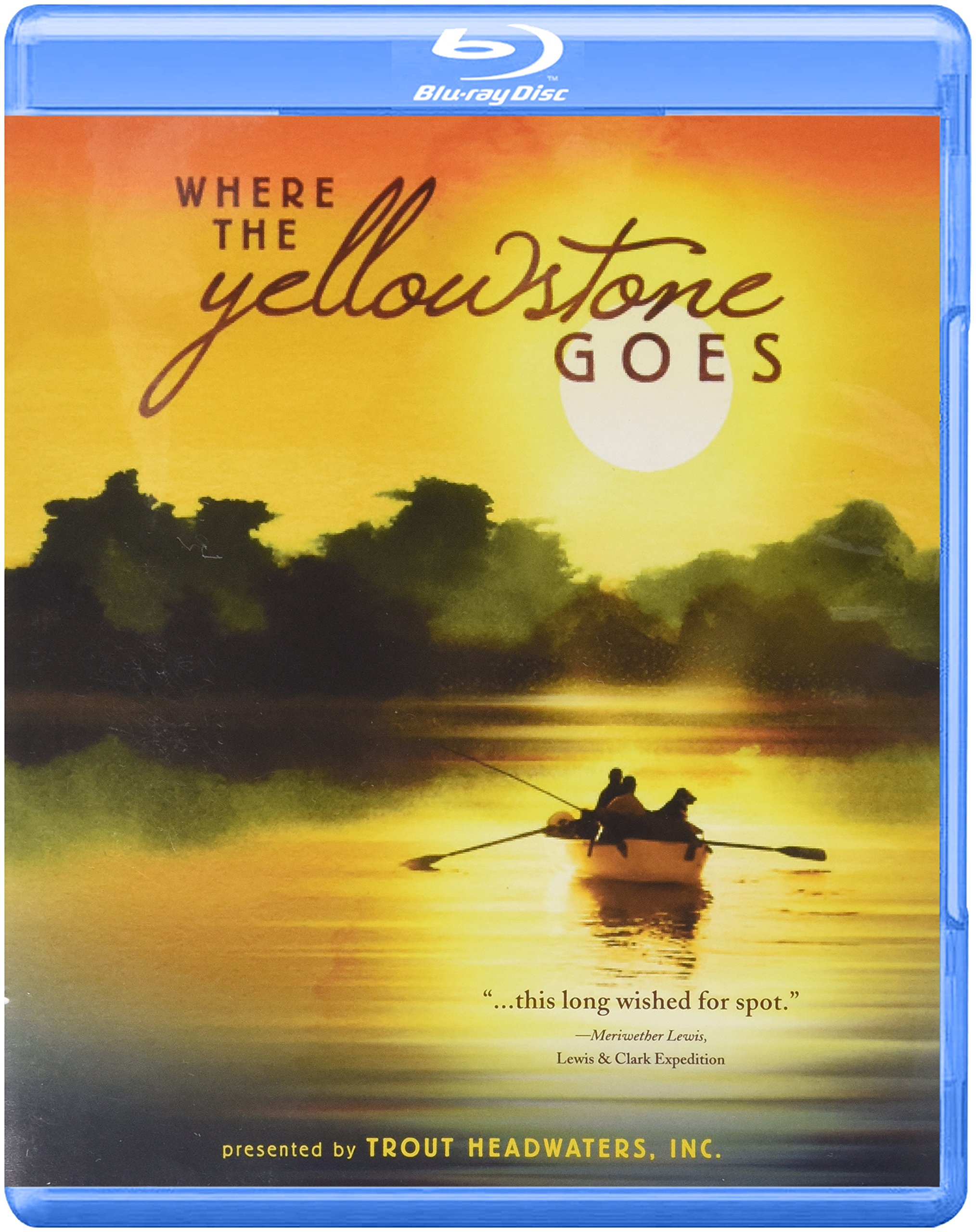Blu-ray : Where The Yellowstone Goes (Blu-ray)