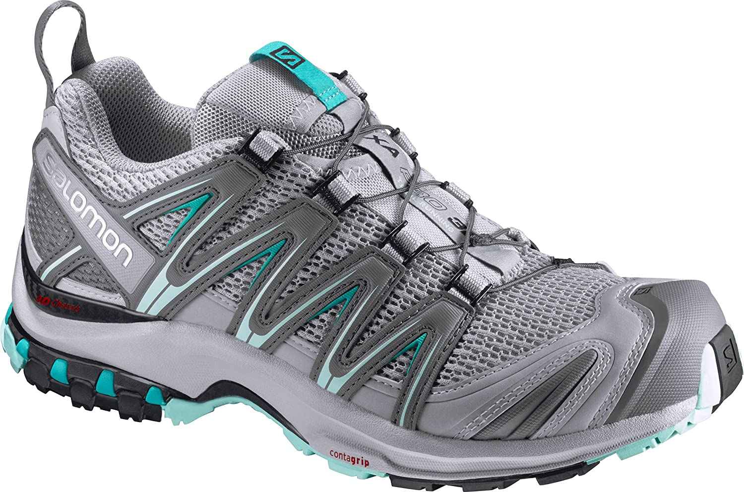 Salomon Women's Xa Pro 3D W Trail Runner B01HD2P5M0 9 B(M) US|Quarry