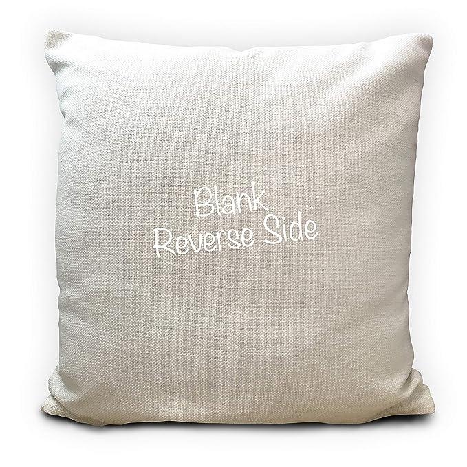 Señor y señora personalizada compartir el sofá cojín, regalo ...
