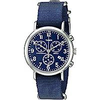 Timex - Reloj cronógrafo semanal (40 mm)