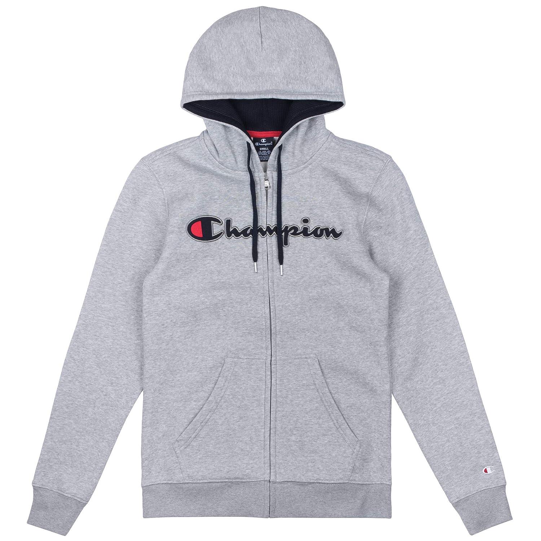 4f4b9974f Champion Hooded Full Zip  Amazon.co.uk  Sports   Outdoors