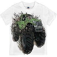 Shirts That Go Little Boys' Big Green Monster Truck T-Shirt