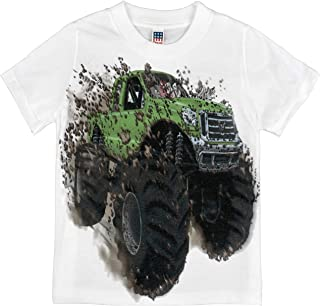 product image for Shirts That Go Little Boys' Big Green Monster Truck T-Shirt