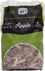 Oklahoma Joe's Apple Wood Smoker Chips, 2-Pound Bag