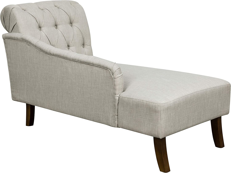 - Amazon.com: Amazon Brand – Ravenna Home Classic Tufted Chaise Lounge,  58.3