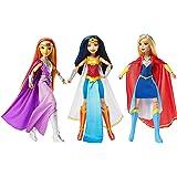 "3-Pack, DC Comics Super Hero Girls Intergalactic Gala 12"" Dolls Collection- Wonder Woman, Super Girl & StarFire"