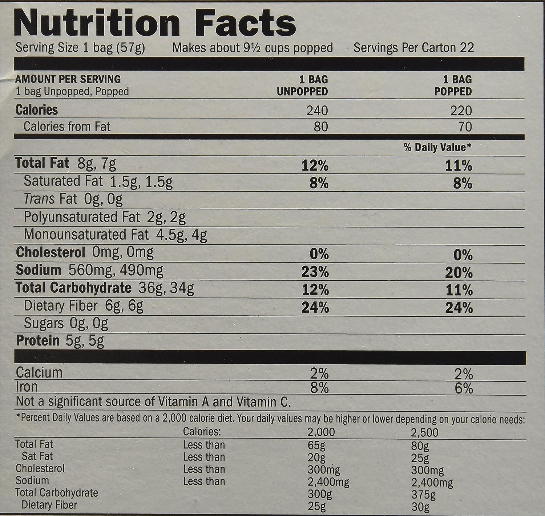 recipe: gourmet microwave popcorn light butter calories [24]