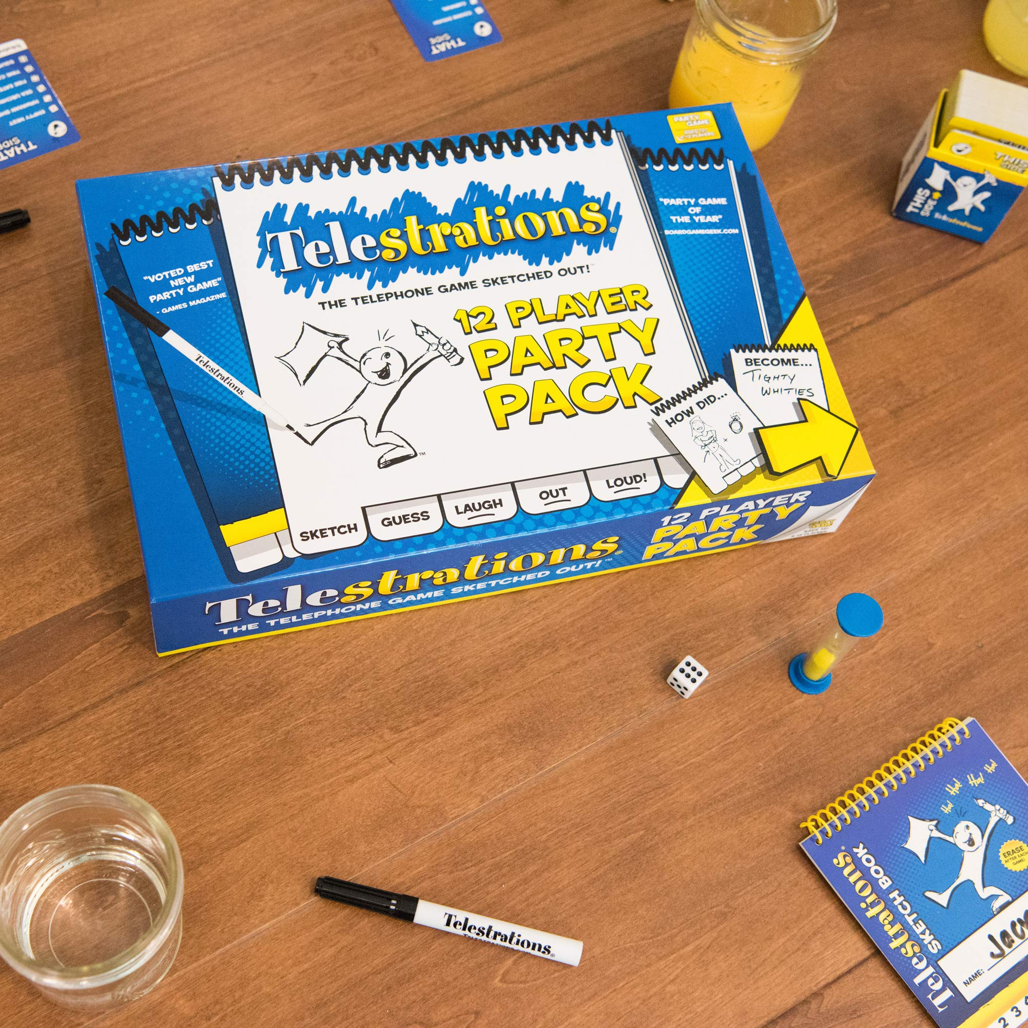 Telestrations 12 Player Party Pack: Telestrations 12 Player Party Pack: Amazon.es: Libros en idiomas extranjeros