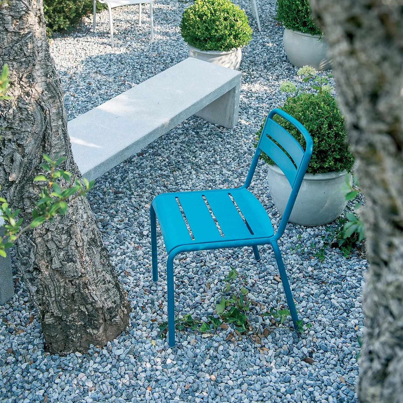 Emu Star Stuhl  blau 54 x 61 cm h 81 cm