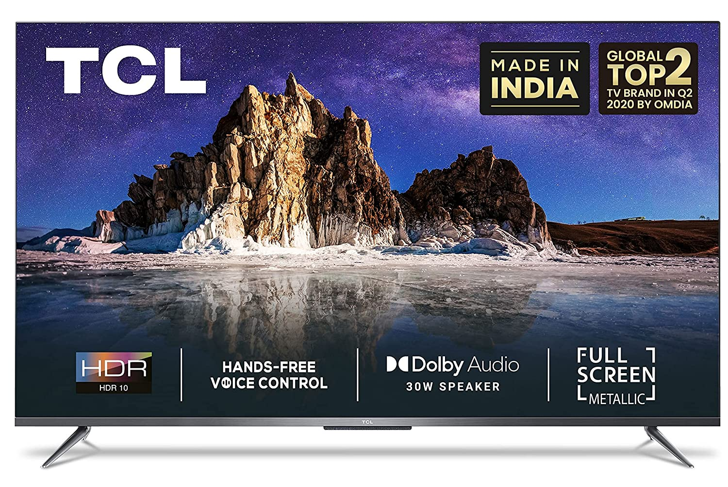 TCL 108 cm AI 4K Ultra HD Certified Android Smart LED TV