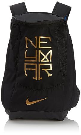 Nike Men s Neymar Shield Compact Backpack Backpack - Black Varsity  Royal Metallic Gold Coin 148310f8c961b