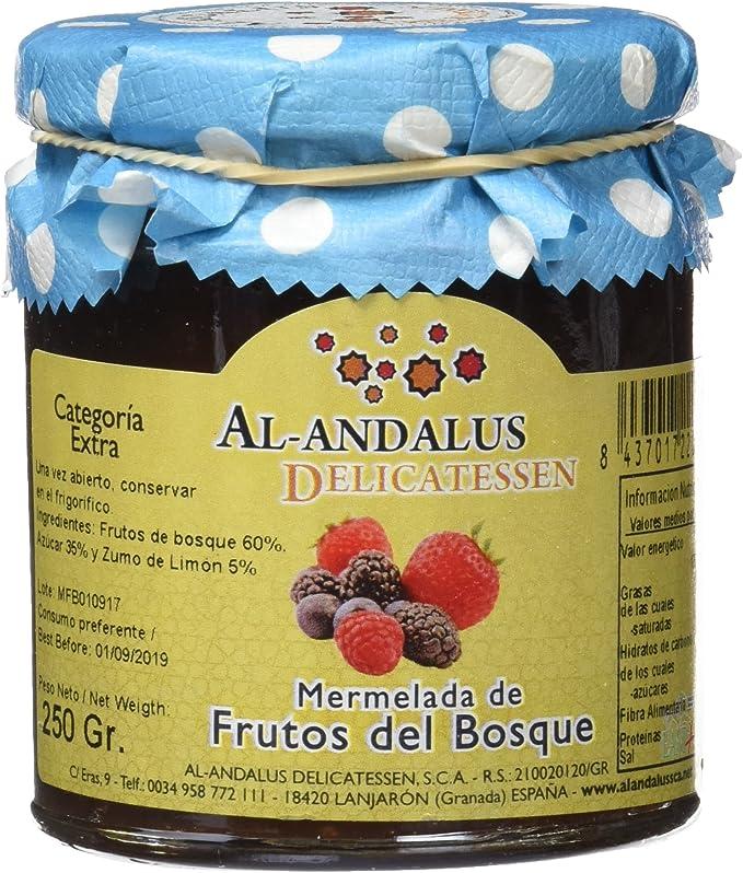 Al-Andalus Delicatessen Mermelada de Frutos del Bosque 250 gr ...