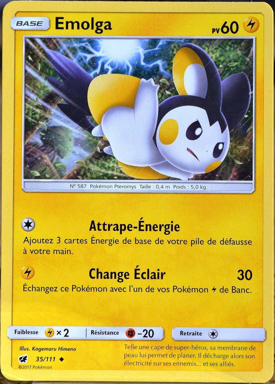 SL4:Invasion Carmin 81//111 Carte Pokemon Neuve Française Etourmi