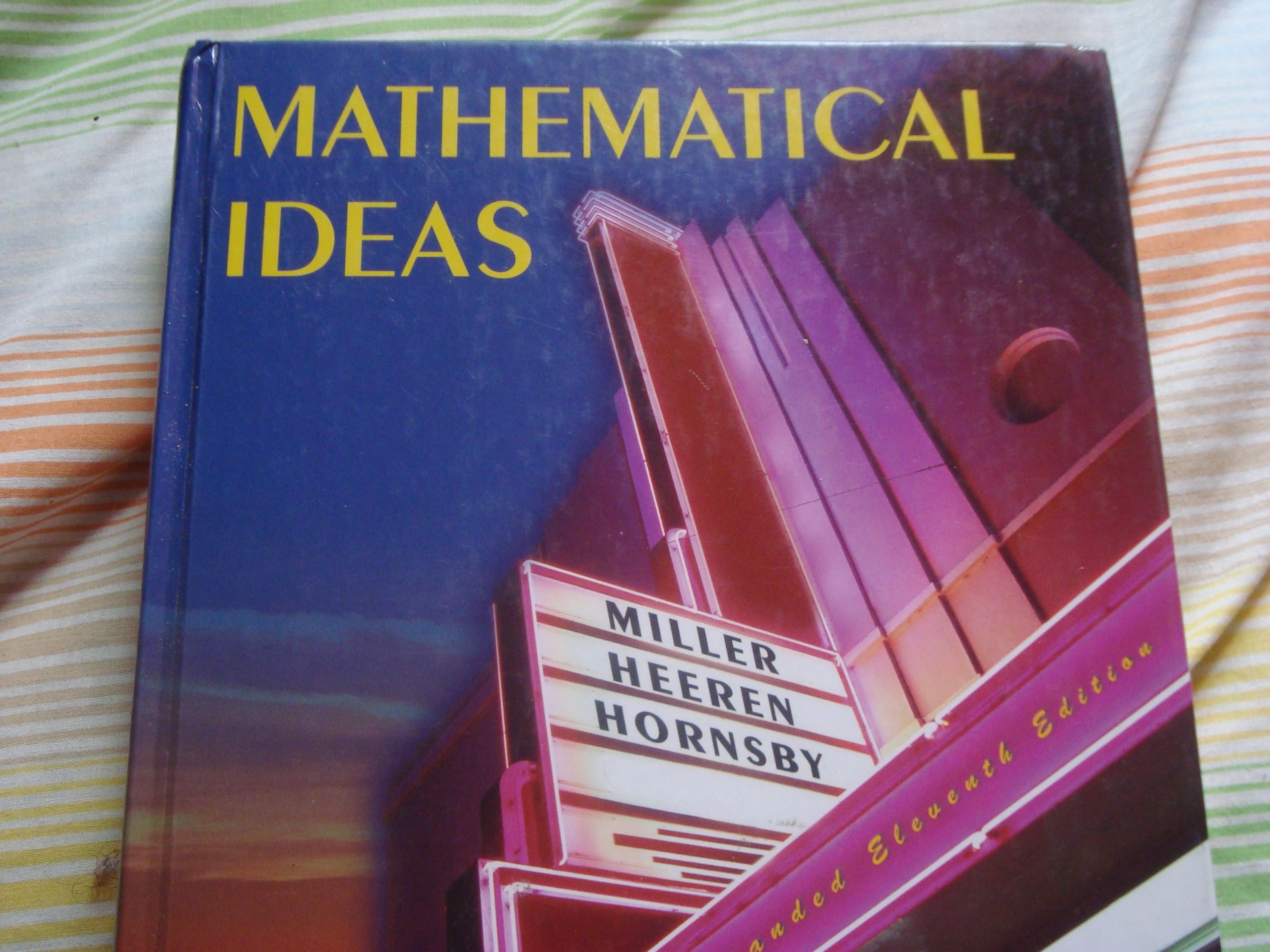 Mathematical ideas plus mymathlab student access kit (11th edition.