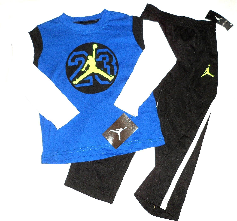 9db13cdb4ed Amazon.com: Nike Air Jordan 23 Logo Toddler Boys Shirt Pants Outfit Set  Size 2 2t 24m: Baby
